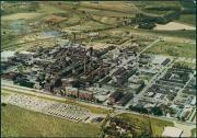 Die Werkanlagen der E. Merck AG Darmstadt