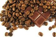 chocolate, coffee, coffee bean
