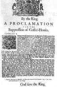 royal proclamation, Charles II