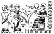 Sumeria, Mesopotamia, Ninkasi, beer, straw, vase, yeast