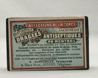 Dragees Antiseptiques au Menthol