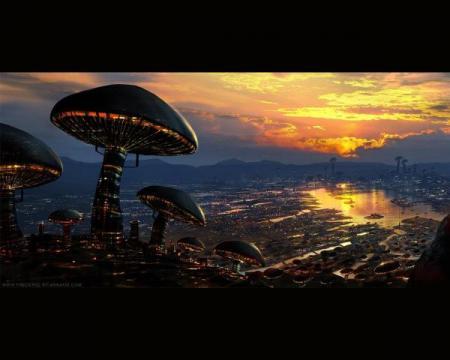 space mushrooms, panspermia, terence mckenna