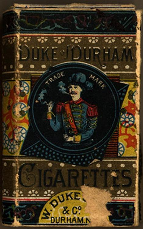 Duke Durham's, early cigarettes