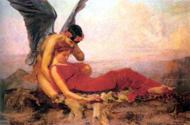 Morpheus, god of dreams, opium, river of forgetfulness, ancient greek