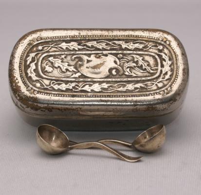 Silver Opium Box