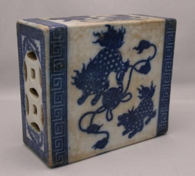 Porcelain Opium Den Pillow #1