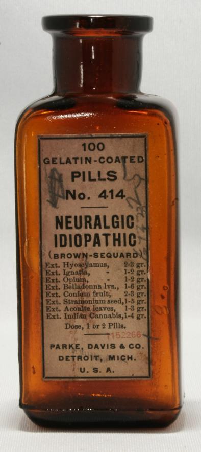Parke & Davis Neuralgic Idiopathic