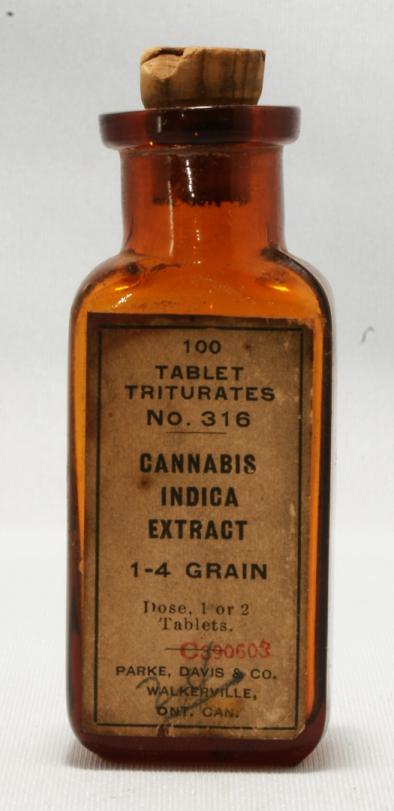 Parke & Davis Cannabis Indica