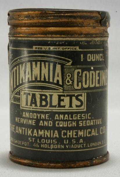 Antikamnia & Codeine Tablets