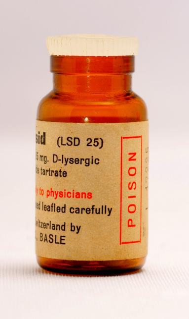 Sandoz Delysid (LSD 25) Label Side