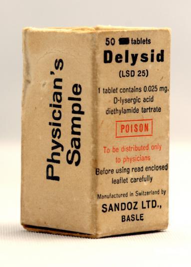 Sandoz Delysid (LSD 25) Physicians Sample