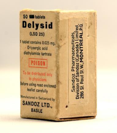 Sandoz Delysid (LSD 25) Physicians Sample #2