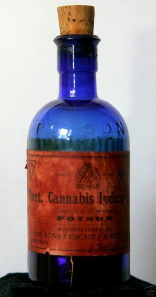 Evans Sons Lescher & Webb Tincture of Cannabis Indica