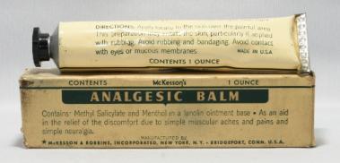 McKession & Robbins Analgesic Balm