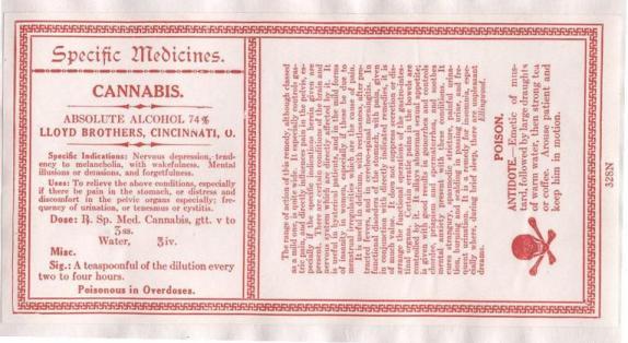 Lloyd Brothers Specific Medicine Cannabis Antidepressant Label 2.jpg