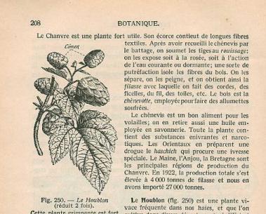 Page 208- Zoologie et Botanique by V. Boulet (1924)
