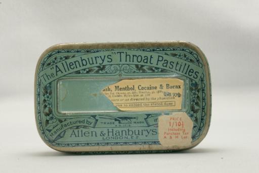 Allenbury Tin